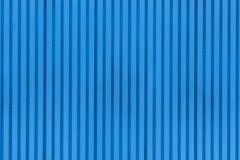 Texture bleue de porte en métal Image stock