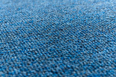 Texture bleue de tapis Photo libre de droits
