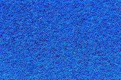 Texture bleue de tapis Photographie stock