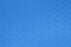 Texture bleue de tapis de yoga Images stock
