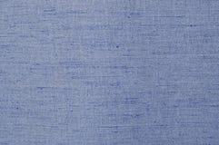 Texture bleue de tissu Image libre de droits