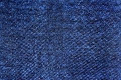 Texture bleue de tissu, armure d'amende Image libre de droits