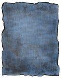 Texture bleue de toile Images libres de droits