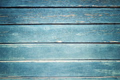 Texture bleue en bois Photo libre de droits