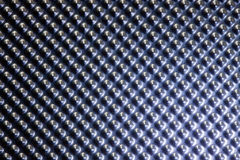 Texture bleue en métal Photos stock