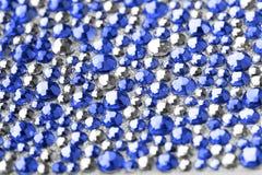 Texture bleue et argentée photo stock