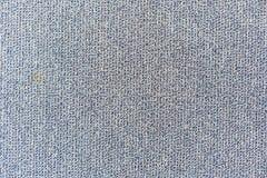 Texture bleue et grise de modèle de tapis pour le fond Photos stock