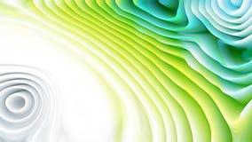 Texture bleue et verte d'ondulation de courbure illustration libre de droits