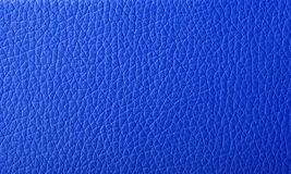 Texture blue artificial leather Royalty Free Stock Image