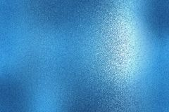 Texture of blue brushed metallic plate, abstract background royalty free illustration