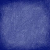 Texture - blue chalkboard / blackboard Royalty Free Stock Image