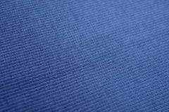 The texture of a blue cotton cloth Stock Image