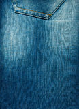 Texture of blue denim with a worn. Background texture of blue denim with a worn Royalty Free Stock Photography