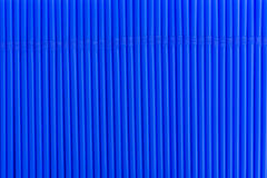 Texture of blue drink straws Stock Photos