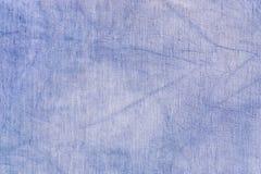 Texture blue fabric Royalty Free Stock Photos