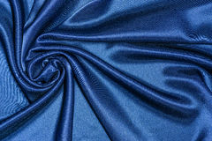 Texture blue fabric Royalty Free Stock Photography