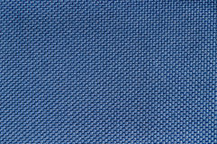 Texture of blue fabric. Stock Photo