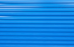 Texture of blue fence construction Royalty Free Stock Photography
