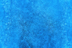 Texture of blue ice surface. Background stock photo