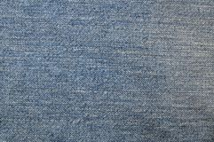 Texture of blue jean cloth. Stock Images