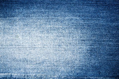 Texture Blue Jeans Stock Photo