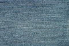 Texture of blue jeans. Fashion Royalty Free Stock Photos