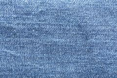 Texture of blue jeans as background royalty free stock photo