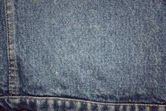 Texture of blue jeans Royalty Free Stock Photo