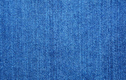 Texture of blue jeans Royalty Free Stock Photography