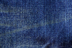 Texture of blue jeans Stock Photo