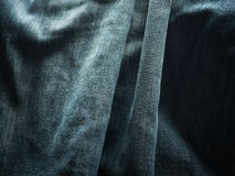 Texture of blue jeans. Background Stock Photography