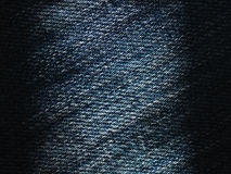Texture of blue jeans background. Stock Image