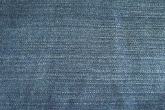 Texture of blue jeans background Stock Photography