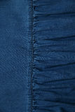 Texture of blue jeans Stock Images