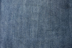 Texture of blue jeans. Close up texture of blue jeans with old for background stock photo