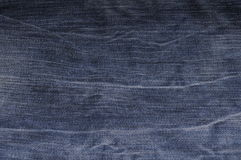 Jeans texture close up Stock Images