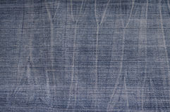 Jeans texture close up Stock Image