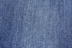 Texture blue jeans Stock Images