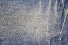 Texture of blue jeans textile Royalty Free Stock Images