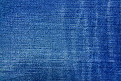Texture of blue jeans textile Stock Photo