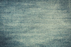 Texture of blue jeans textile Stock Image