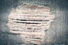 Texture of blue jeans Royalty Free Stock Image