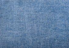 Texture of blue jeans textile close up Stock Photo