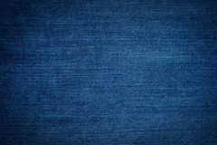 Texture of blue jeans Royalty Free Stock Images