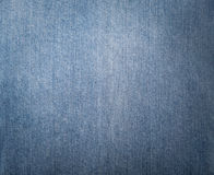 Texture of blue jeans textile Royalty Free Stock Photos