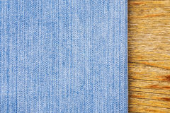 Texture blue jeans. Stock Images