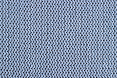 Texture of a blue knitted sweater Royalty Free Stock Photos