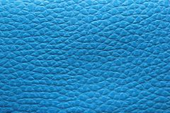 Texture of blue leatherette Royalty Free Stock Photos