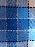 Texture of blue color. Texture of blue line gradiant in the table Royalty Free Stock Photos