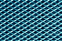 Texture of blue metal Royalty Free Stock Photos